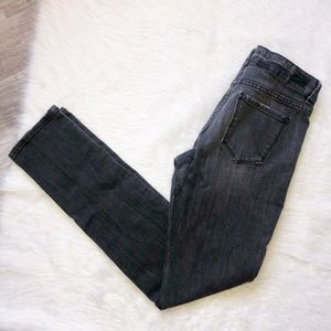 Urban outfitters bdg faded black skinny jeans 30